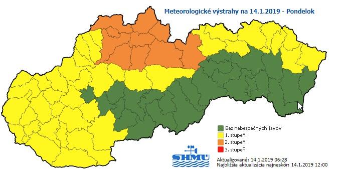 80 centi friss hó is hullhat Észak-Szlovákiában!