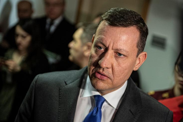VÁLTÓHAMISÍTÁS: Daniel Lipšic elégedett a bíróság döntésével
