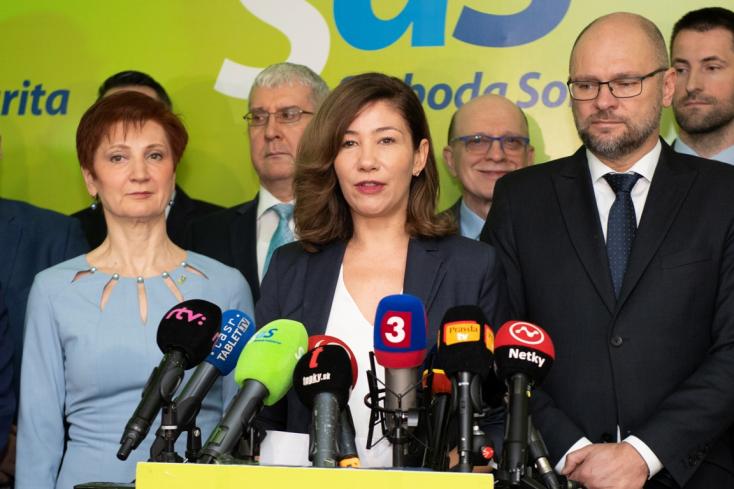 Hiába kapott 65 ezer szavazatot Lucia Ďuriš Nicholsonová, nem lesz parlamenti képviselő