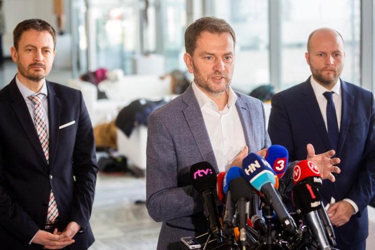 Matovič bízik benne, hogy Kiskáék belépnek a kormánykoalícióba