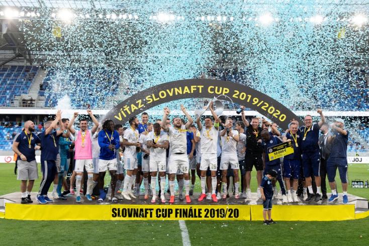 Slovnaft Cup, döntő: A bajnokság után a szlovák kupát is megnyerte a Slovan