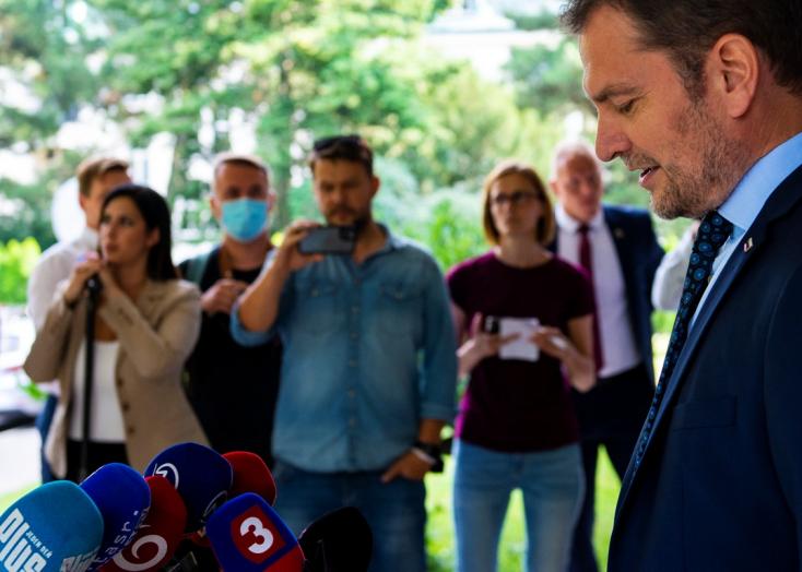 Matovič állítja, egészen mostanáig abban a hiszemben volt, hogy rendben van a diplomamunkája, a lelkiismerete pedig tiszta
