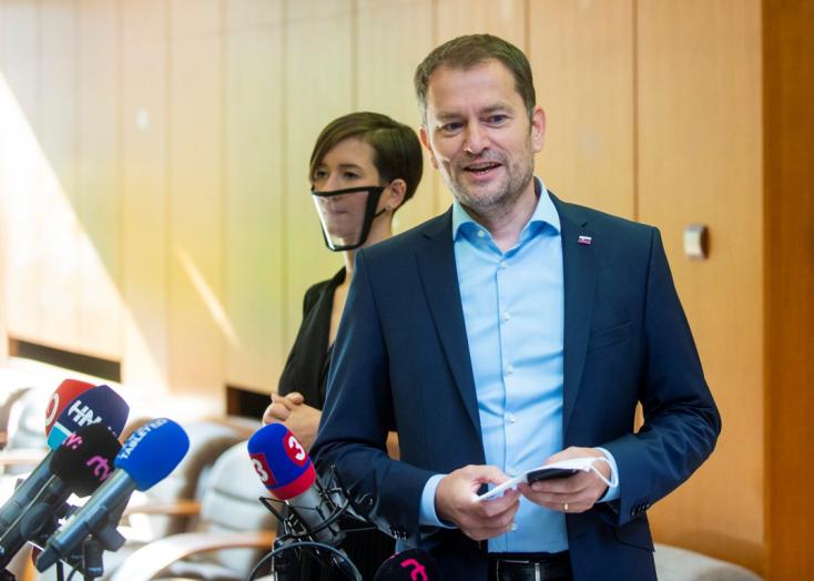 Matovič arra kéri a koalíciós képviselőket, hogy mindenki szabadon, a saját belátása szerint szavazzon