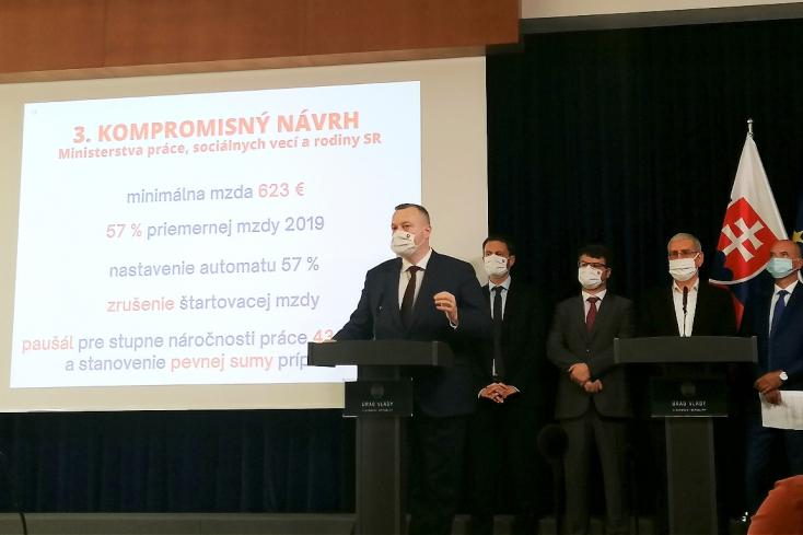 Pellegrini szerint a munkaügyi miniszter nem tudja teljesíteni az egyik alapvető feladatát
