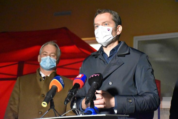 Koronavírus - Matovič közölte az újabb rekordot, a tömeges tesztelésen kívül is 3000 fölött a napi fertőzésszám!