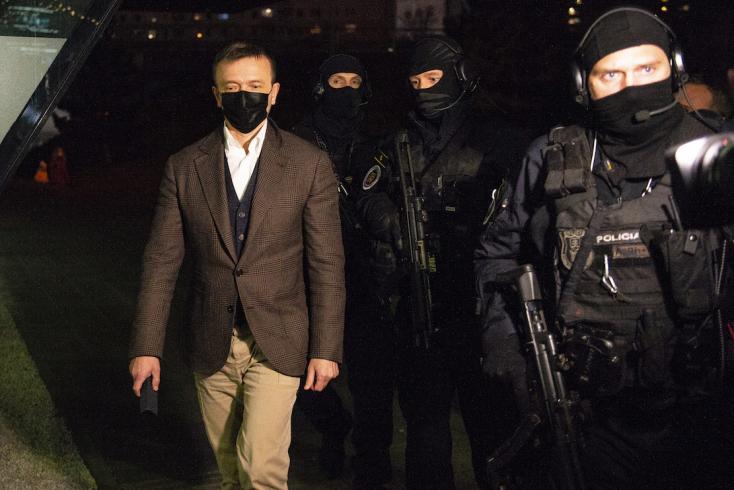 Döntött a bíróság: Haščák vizsgálati fogságba kerül!