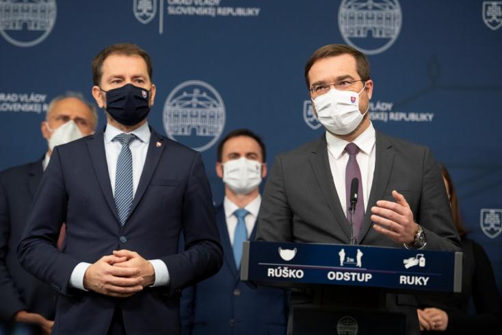 Lemond Marek Krajčí egészségügyi miniszter