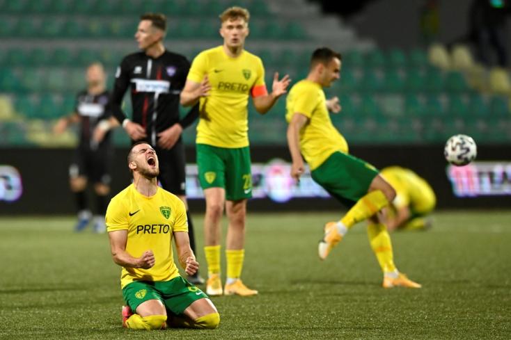 Fortuna Liga, osztályozó, play off: Hosszabbításban győzött a Žilina, marad az élvonalban a Senica
