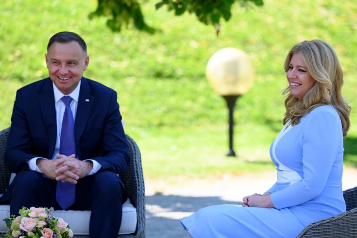 Čaputová a lengyel és a horvát elnökkel találkozott Pozsonyban