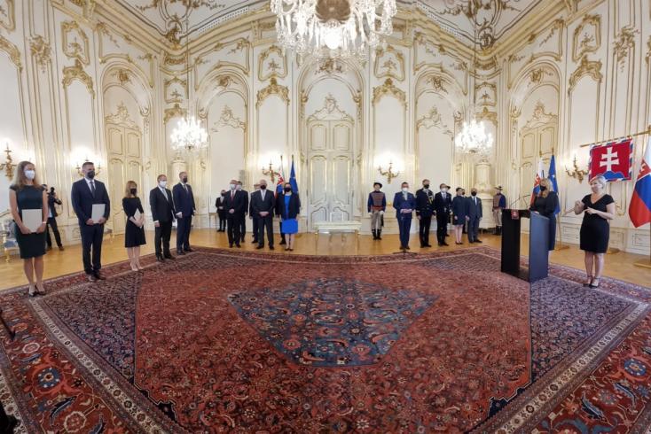 Čaputová kinevezte a Legfelsőbb Közigazgatási Bíróság öt bíróját