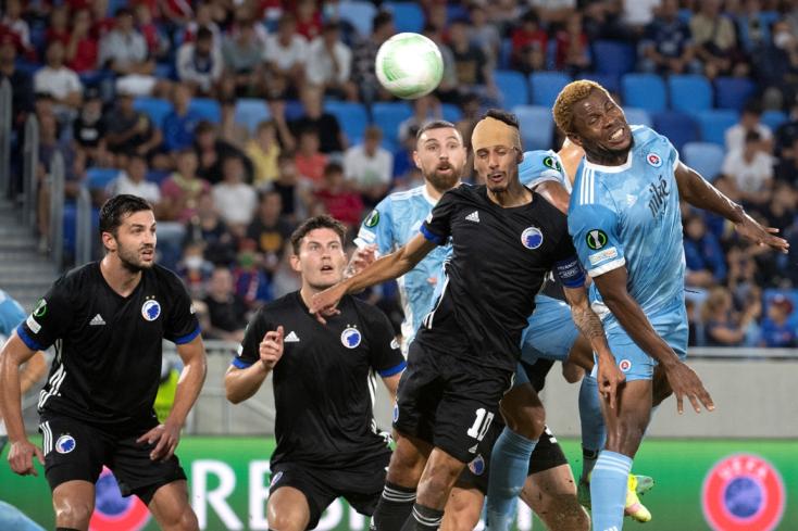 Konferencia Liga: Vereséggel kezdett a Slovan, hazai pályán nem bírt a Köbenhavnnal