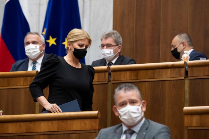 A Szövetség kifogásolja, hogy Čaputová második évértékelő beszédében sem szólt a nemzeti közösségek tagjaihoz