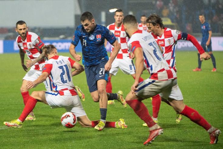 Vb-selejtező: Izgalmas horvátországi döntetlennel pecsételődött meg végleg a szlovák válogatott sorsa