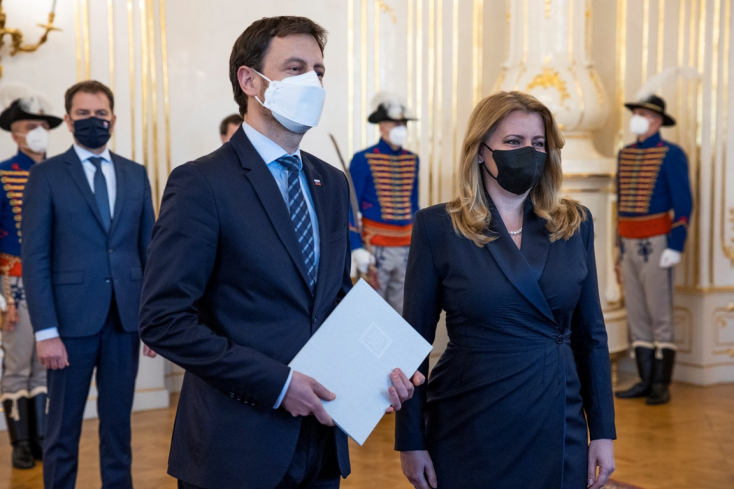 Az államfő elfogadta Marek Krajčí lemondását, ideiglenesen Eduard Hegert bízták meg az egészségügyi tárca vezetésével