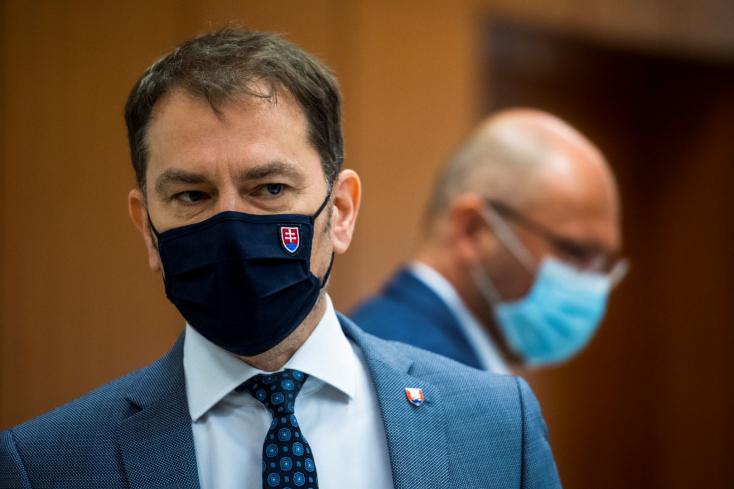 Az ügyészség és a rendőrség is foglalkozik Matovič kijelentéseivel, amiket Sulík fejéhez vágott az antigéntesztek kapcsán