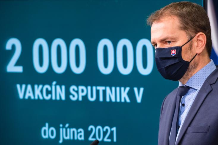 Matovič a Facebookon dühöng, amiért kicsúszik az ország kezéből az orosz vakcina