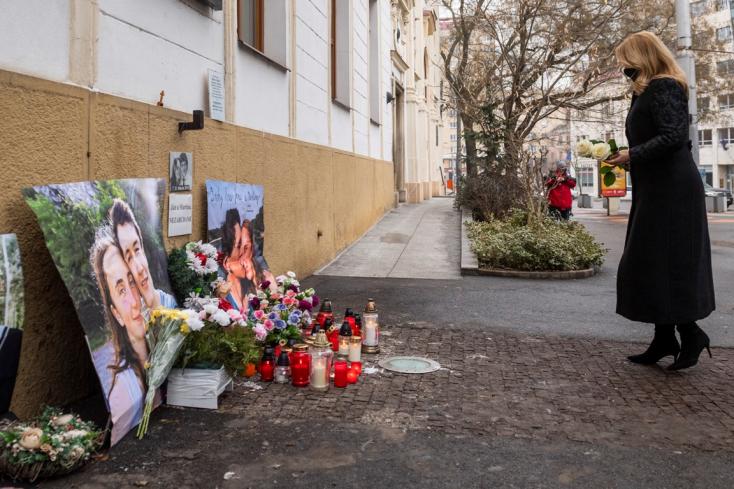 Čaputová: Bebizonyosodik, hogy igaz volt, amiről Ján Kuciak írt