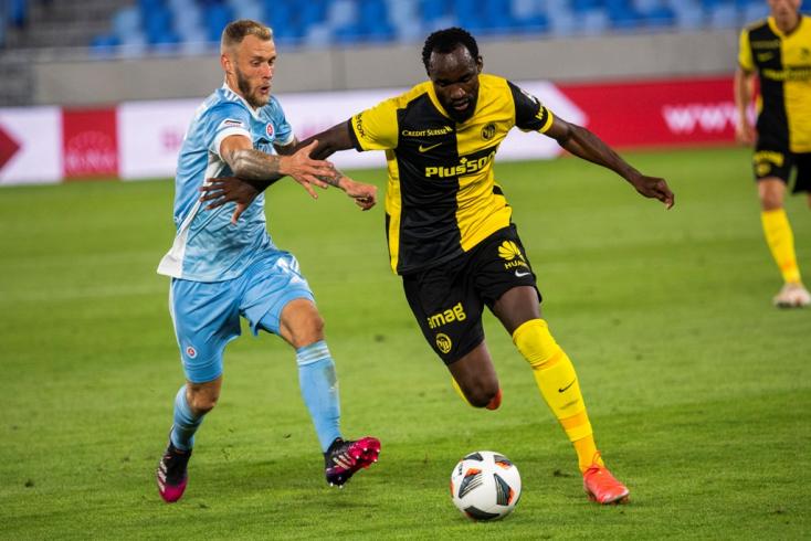 BL-selejtező: Nem bírt egymással a Slovan és a Young Boys
