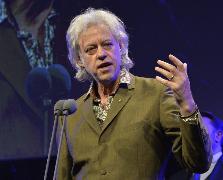 Bob Geldof 70 éves