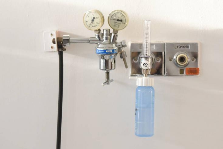 Megduplázták az oxigénkészletet a galántai kórházban