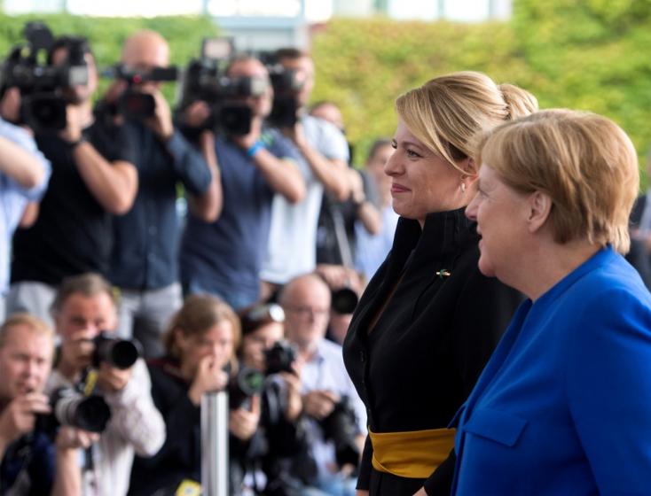 Čaputová folytatja németországi látogatását, interjút ad a Der Spiegelnek