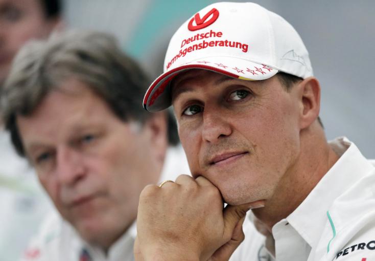 Michael Schumacher családja közleményt adott ki