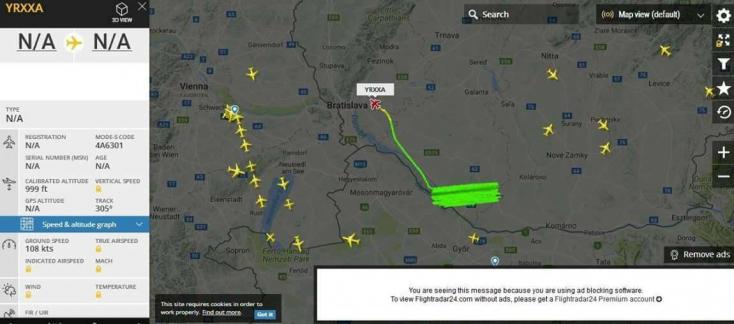 Ismeretlen repülőgép cirkált a Csallóköz felett?