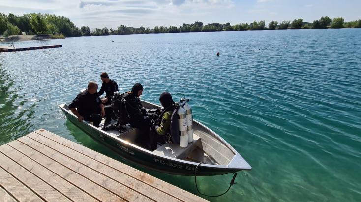 27 méteres mélységben találták meg a feketenyéki tónál eltűnt horgász holttestét