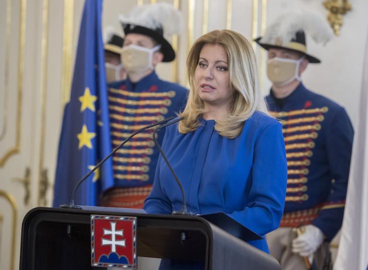 A pozsonyi vírushelyzet miatt marad el Zuzana Čaputová komáromi látogatása!
