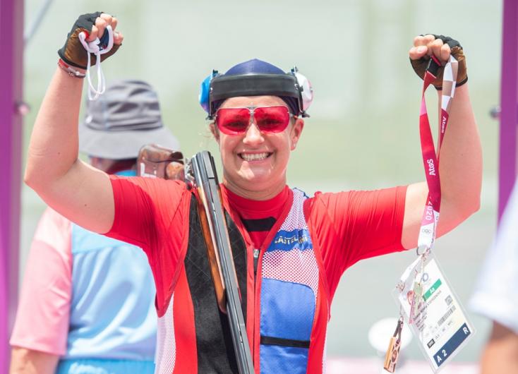 Tokió 2020: Megvan az első szlovák arany! Zuzana Rehák-Štefečeková nyert a sportlövők döntőjében