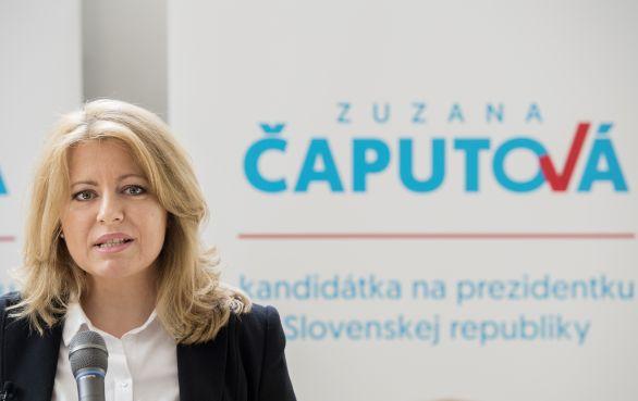 Egy újabb felmérés szerint Čaputová már átlépi az 50 százalékot!