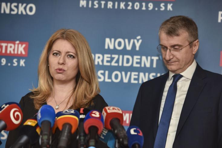 Egyesült a demokratikus ellenzék: Čaputovára szavaz Mistrík is (VIDEÓ)