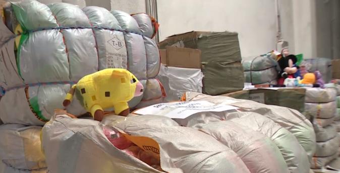 Elképesztő mennyiségű hamis árut foglaltak le Dunaszerdahelyen – FOTÓK