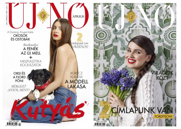 Megjelent az Új Nő magazin áprilisi száma dupla címlappal!