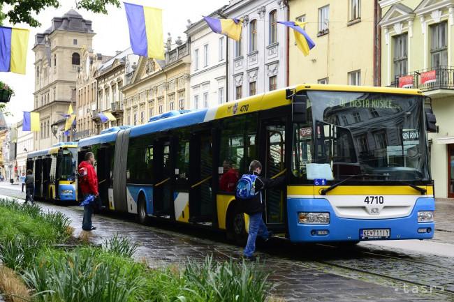Megbénította a buszsofőrök sztrájkja Kassát