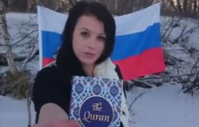 Őrizetbe vették a fiatal szlovák nőt, aki meggyalázta a Koránt
