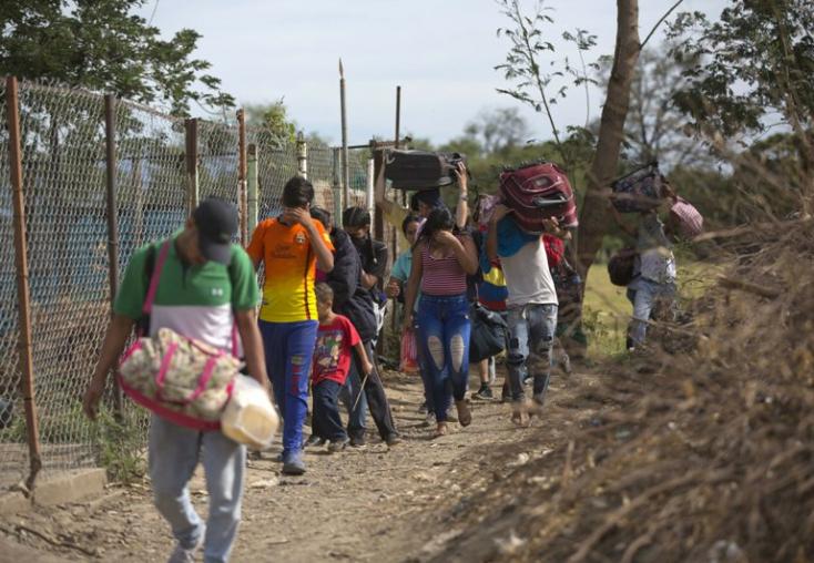 Kétmillióval emelkedhet 2020-ban a venezuelai menekültek száma