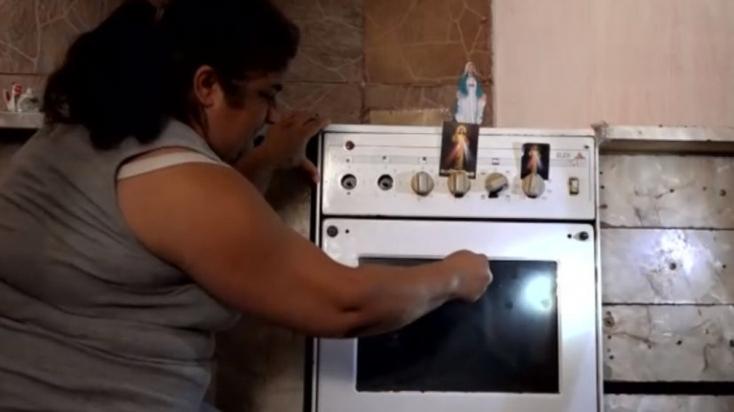 Jézus Krisztus képmása jelent meg egy család gáztűzhelyén, azóta a berendezéshez imádkoznak