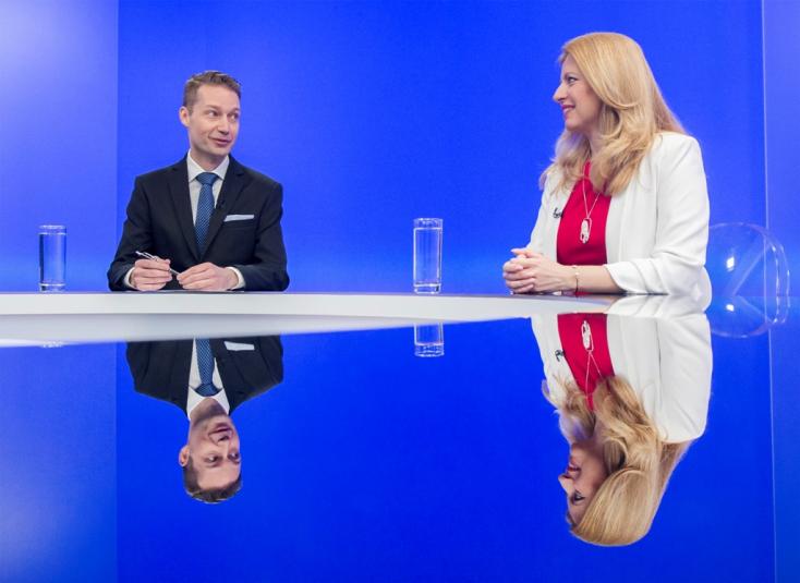 Čaputová: Az emberek frusztráltak, nem bíznak a politikusokban