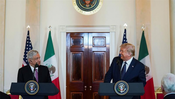 Kölcsönös tiszteletről és bizalomról nyilatkozott Trump és a mexikói elnök