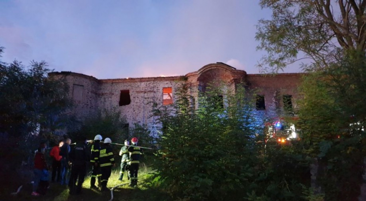 Az osgyáni kastély tetőszerkezete 560 ezer euróba fog kerülni