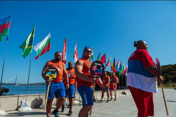 Dunaszerdahelyi strongman remekelt az oroszországi mas-wrestling világbajnokságon