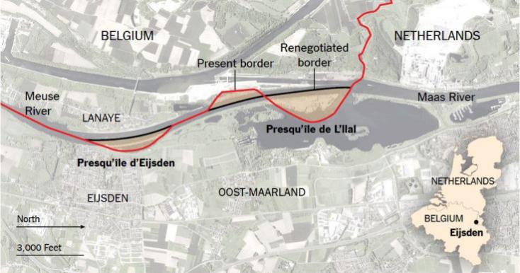 Hollandia nagyobb lett az újévre, Belgium meg kisebb