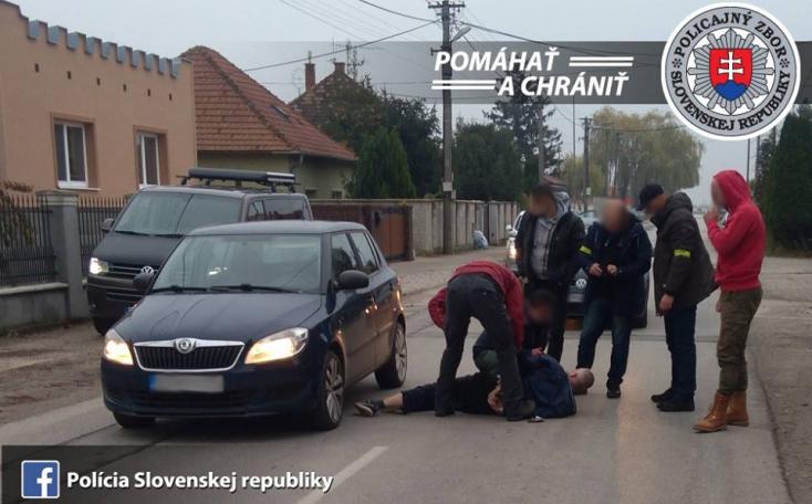 Nemzetközileg körözött bűnözőt fogtak el a Dunaszerdahelyi járásban! (FOTÓ)