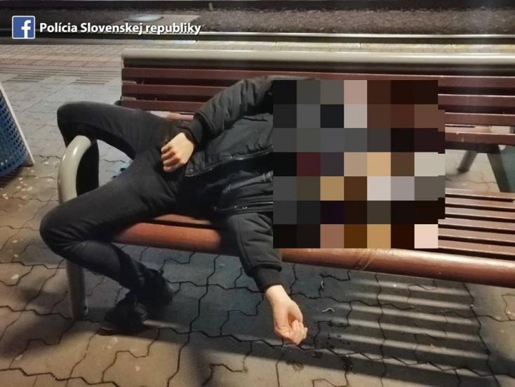 Úgy berúgott a srác, hogy kis híján a sínekre esett a pozsonyi főállomáson