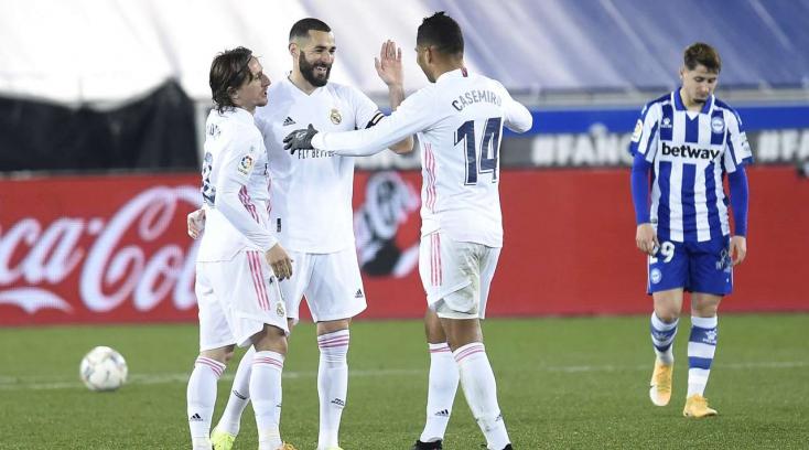 La Liga: Magabiztosan nyert vendégként a Real Madrid