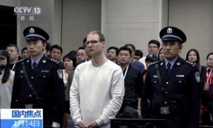 Elutasították Kínában egy kanadai állampolgár halálbüntetés elleni fellebbezését