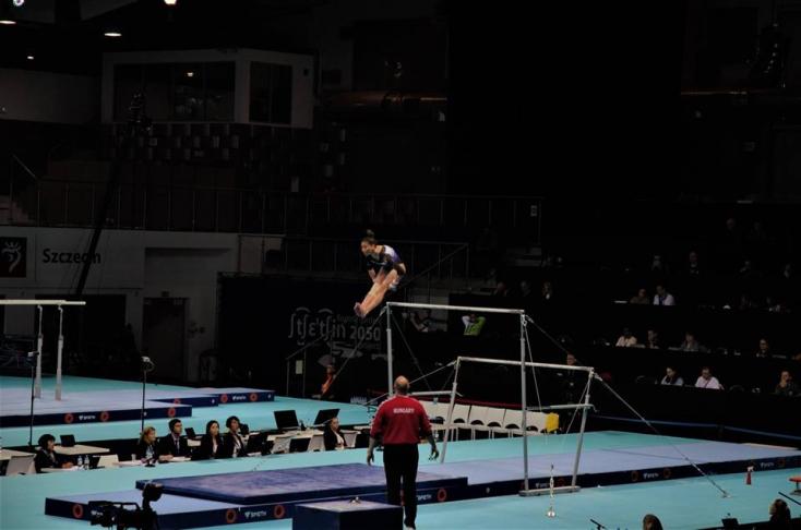 Fehér Nóra újabb két szeren döntős az eszéki vk-versenyen