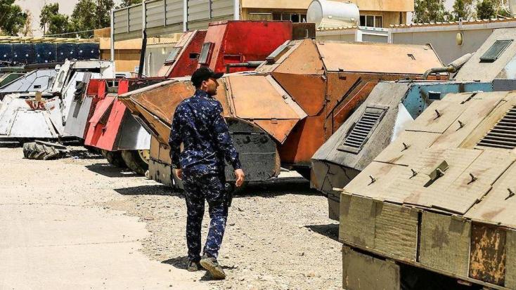 Abnormális járművekkel száll harcba az Iszlám Állam - FOTÓK