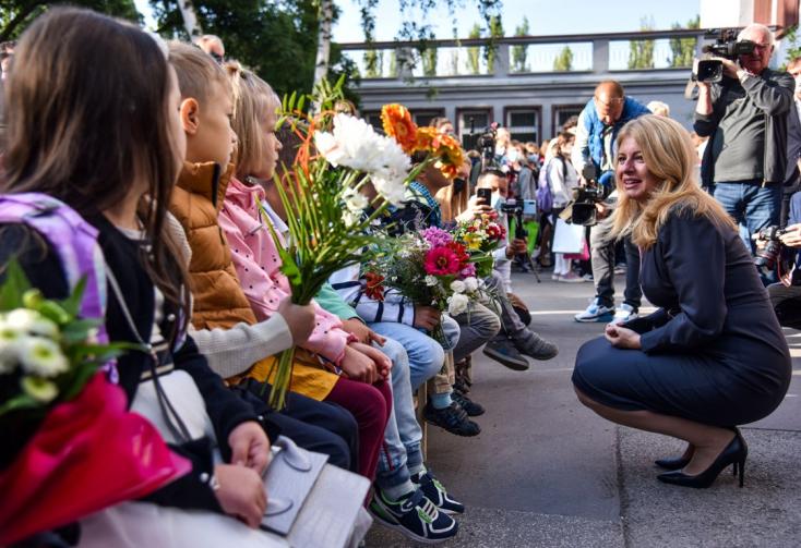 Čaputová fontos kérést intézett a gyerekekhez a tanévnyitón (FOTÓK)